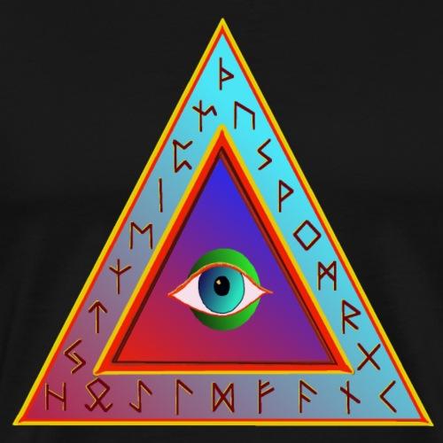 Dreieck - Männer Premium T-Shirt
