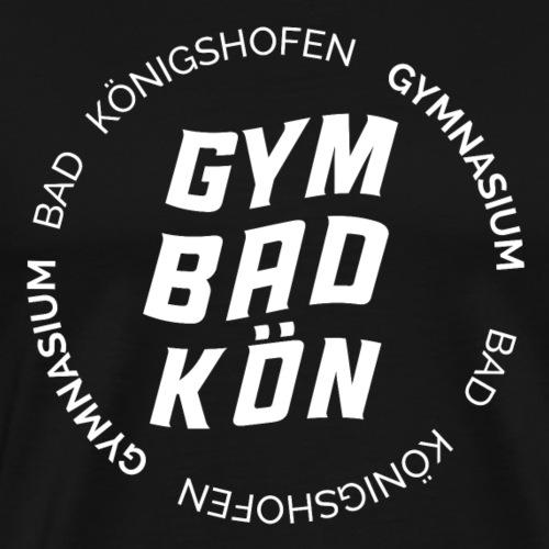 Geschwungenes Gym KÖN w - Männer Premium T-Shirt