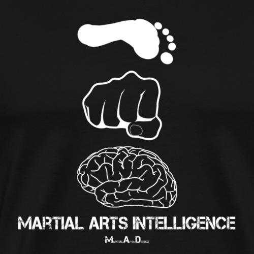 Martial Arts Intelligence - Männer Premium T-Shirt