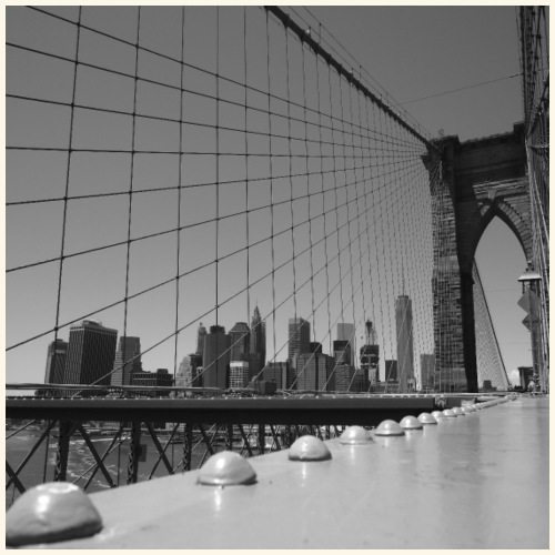 Brooklyn bridge - Maglietta Premium da uomo