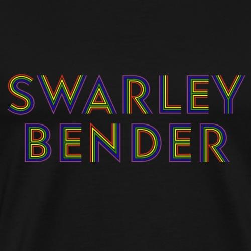 Swarley Bender Shirt - Rainbow - Männer Premium T-Shirt
