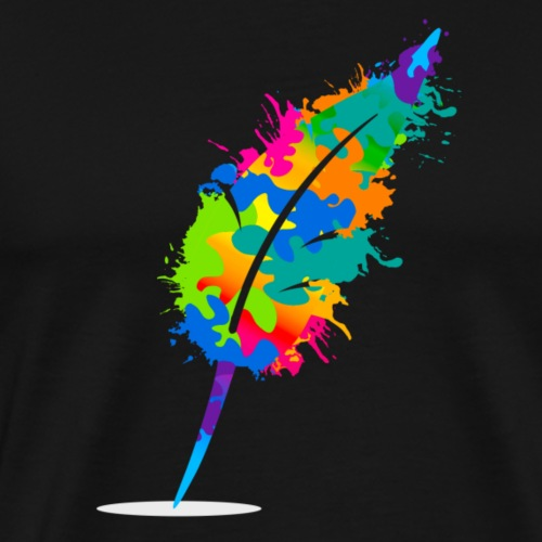 Original Schreiben-im-Flow.de - Feder - Männer Premium T-Shirt