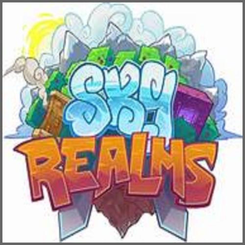 Das Logo von ,,Sky Realms! - Männer Premium T-Shirt
