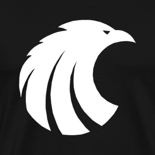 white eagle! - Premium-T-shirt herr