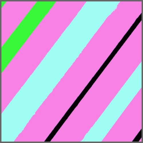 Righe rosa - Maglietta Premium da uomo