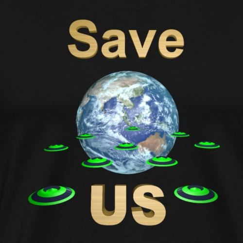 SAVE US - T-shirt Premium Homme