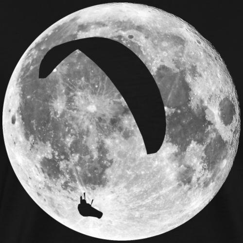Paragleiter im Mond - Männer Premium T-Shirt