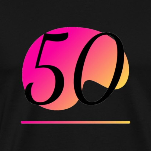T-Shirt zum 50. Geburtstag Herren Emblem - Männer Premium T-Shirt