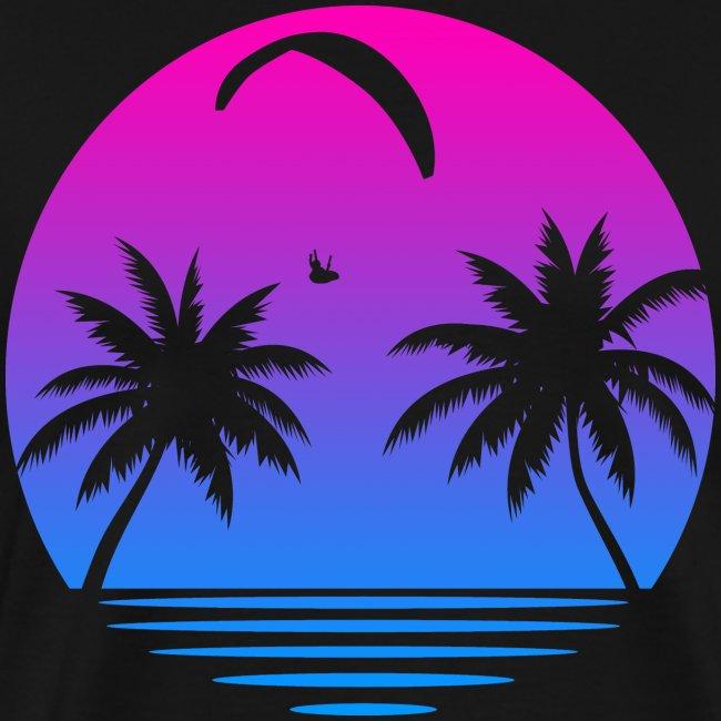 Paragliding Sunset