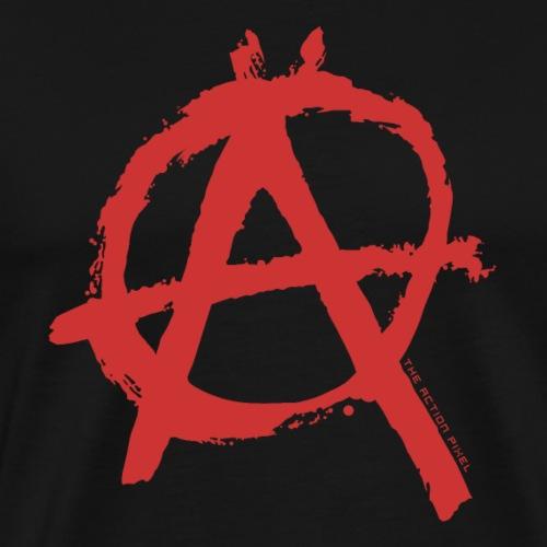 Anarchy Red - Men's Premium T-Shirt