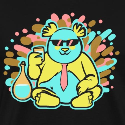 Panda coloré 3 - T-shirt Premium Homme