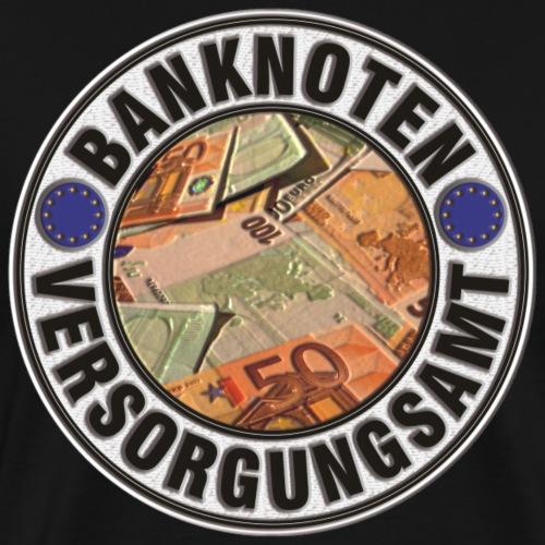 Vom Grafik Designer---Banknoten Versorgungsamt - Männer Premium T-Shirt