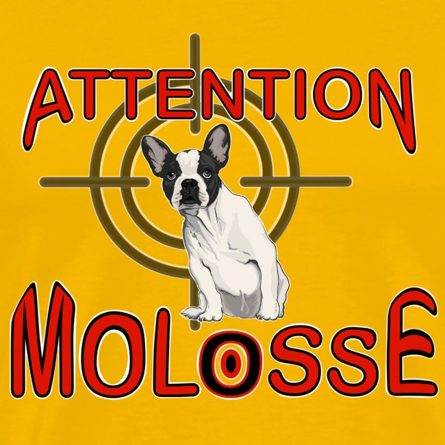 Attention Molosse Bouledogue Français