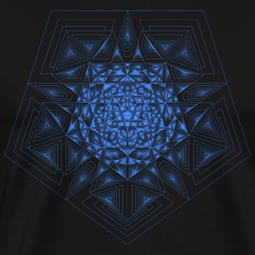 Penta Star Chambers Blue - Men's Premium T-Shirt
