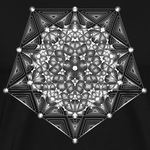 Pentagon Star Dimensions - Men's Premium T-Shirt