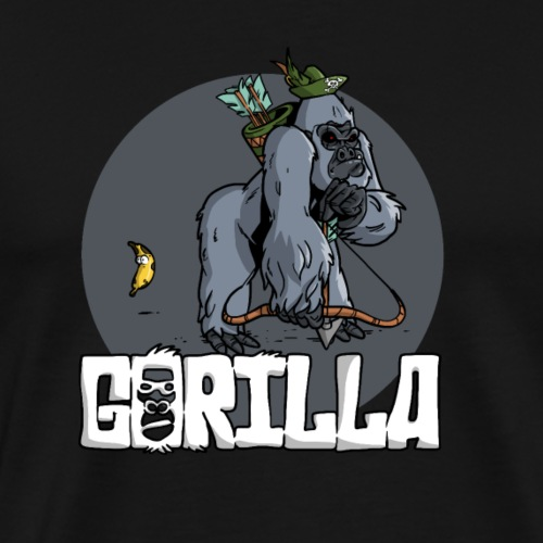 Gorilla Hunting - T-shirt Premium Homme