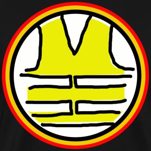 Dessin Gilet Jaune couleur Belgique - T-shirt Premium Homme