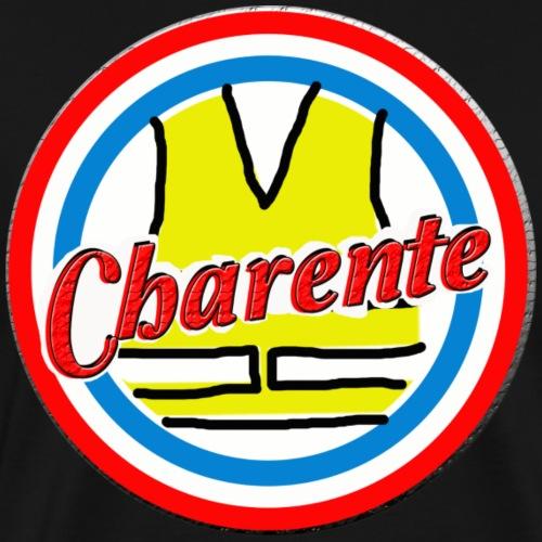Design Gilets Jaunes Charente - T-shirt Premium Homme