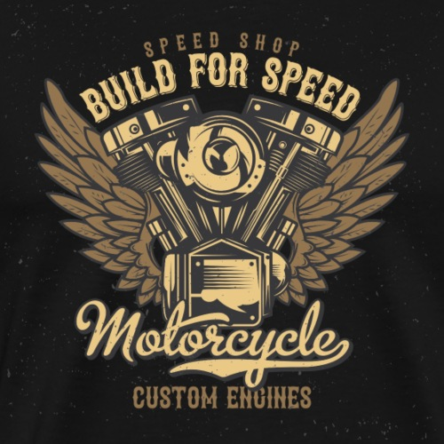 Build for Speed - Männer Premium T-Shirt