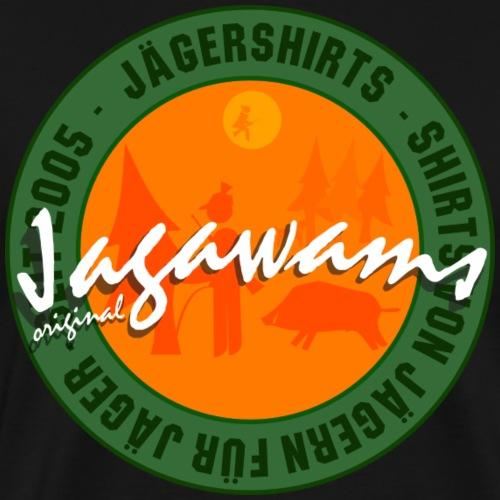 Original Jagawams - Jägershirts seit 2005 - Männer Premium T-Shirt