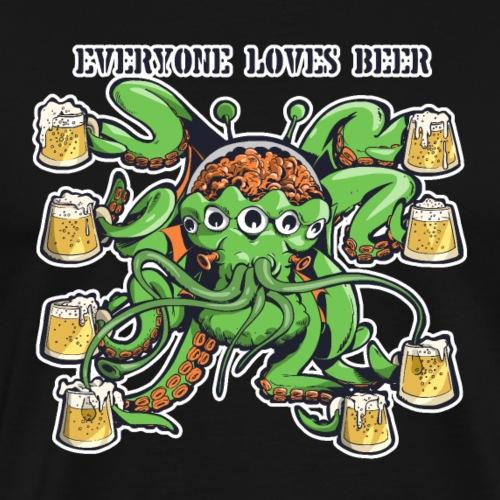 Bière & Alien - T-shirt Premium Homme