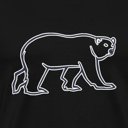 Ours Polaire 2 - Version Simple - T-shirt Premium Homme