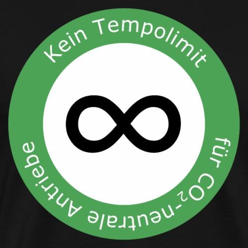 Kein Limit für CO2 Neutrale Antriebe - Männer Premium T-Shirt