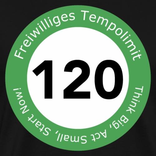 Freiwilliges Tempolimit - Männer Premium T-Shirt