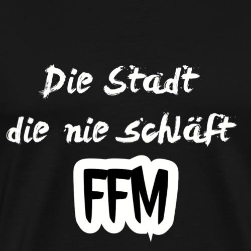 Die Stadt - Männer Premium T-Shirt