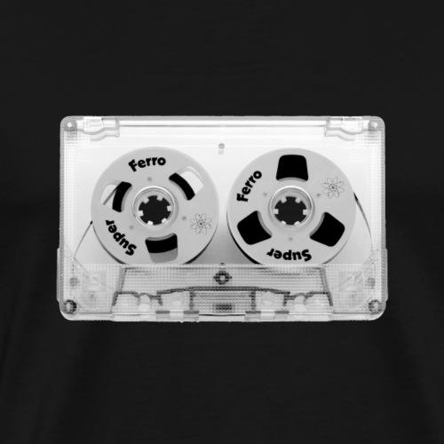 HipHop Retro Tape Cassette Kassette - Männer Premium T-Shirt