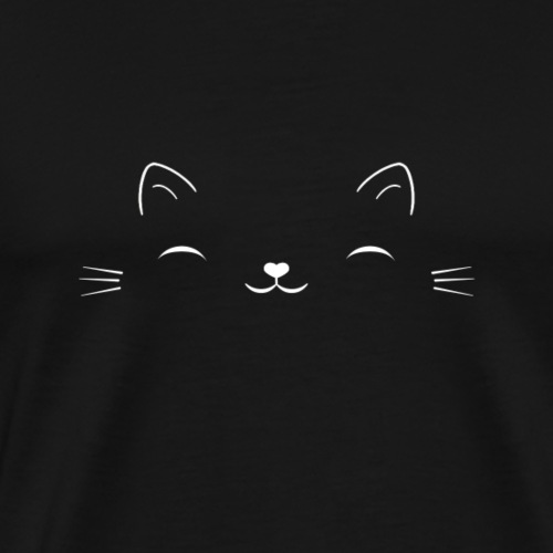 Lächelnde Katze - Männer Premium T-Shirt