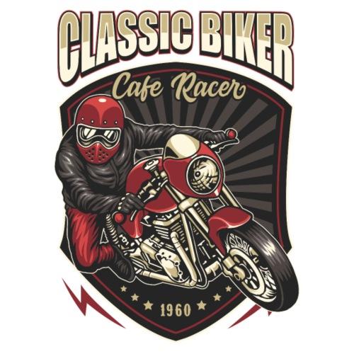 Classic Biker - Maglietta Premium da uomo