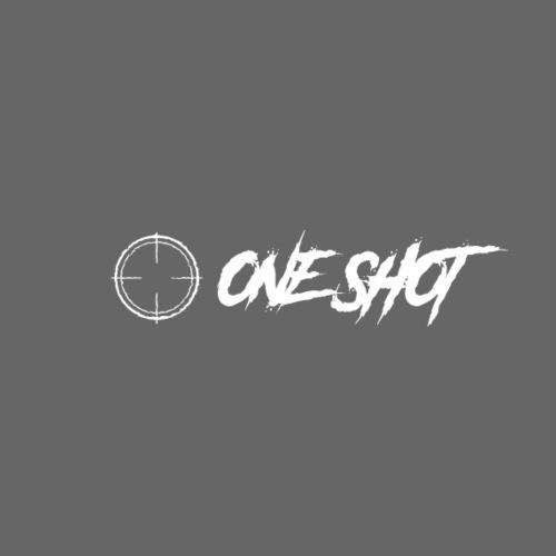 ONESHOT logo + text - Men's Premium T-Shirt