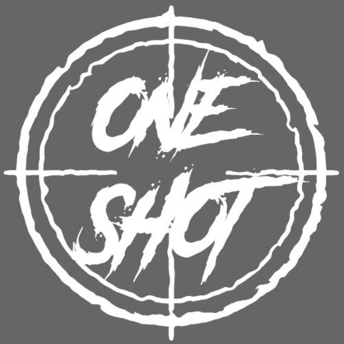 Oneshot Logo White - Men's Premium T-Shirt