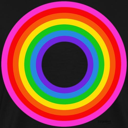 Eternal Rainbow - Miesten premium t-paita
