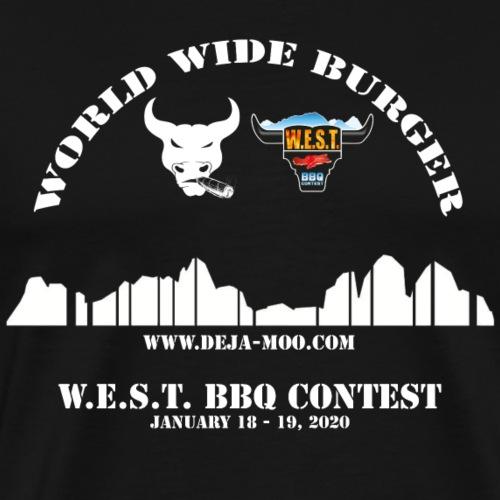 DejaMOO goes W.E.S.T. 2020 - Männer Premium T-Shirt