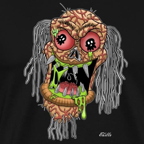 Zombie im Comic Style - Männer Premium T-Shirt