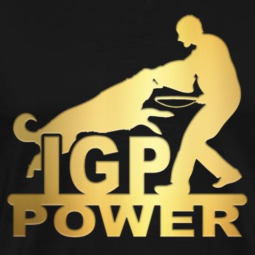IPG Gold - Männer Premium T-Shirt