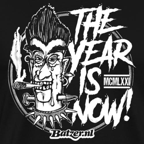 Batzer The Year - Mannen Premium T-shirt