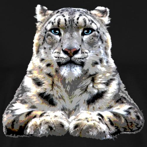 FP10 57 Snowleopard - Miesten premium t-paita