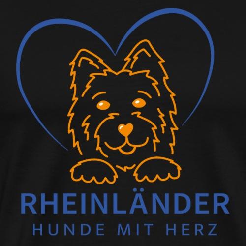 Logo Rheinländer - Männer Premium T-Shirt
