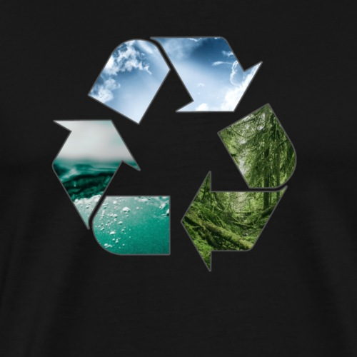 Recycle Earth - Men's Premium T-Shirt