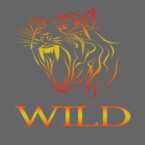 Wild - Camiseta premium hombre