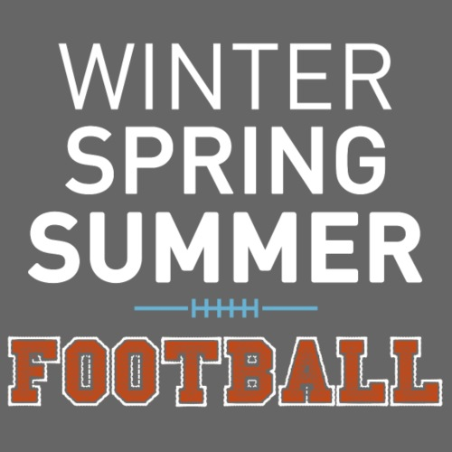 4 Seasons - American Football - Männer Premium T-Shirt