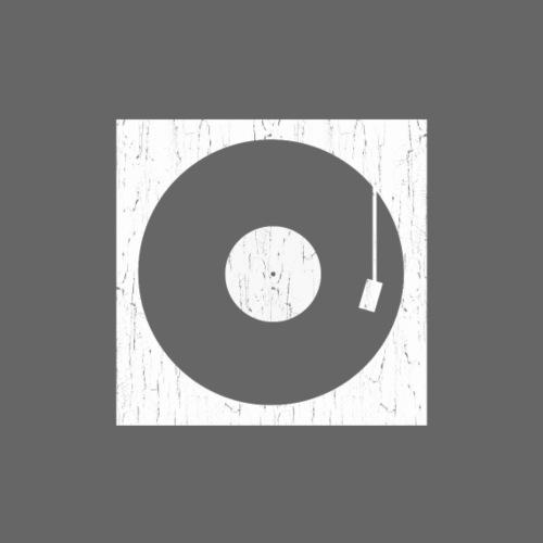Plattenspieler retro analog vinyl - Männer Premium T-Shirt