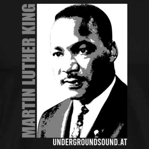 MARTIN LUTHER KING PORTRAIT - Männer Premium T-Shirt