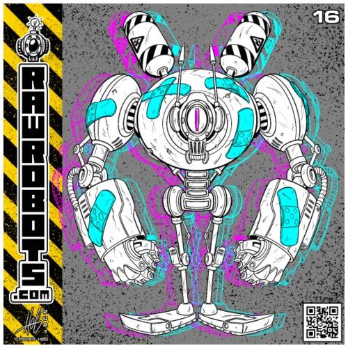 The P.A.T.C.H. Robot! - Herre premium T-shirt