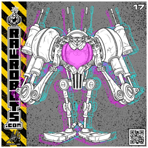 The L.O.V.E. Robot! - Herre premium T-shirt