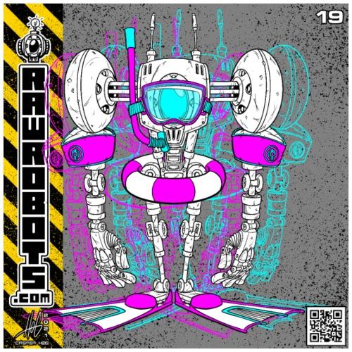 The B.E.A.C.H. Robot! - Herre premium T-shirt