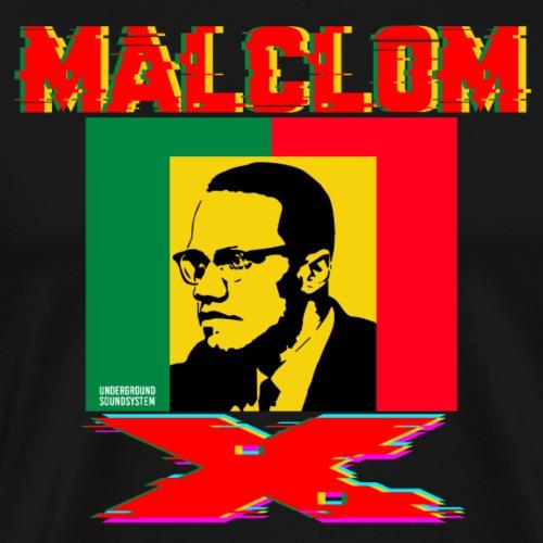 MALCOM X - Rasta - Männer Premium T-Shirt